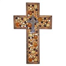 Tan/brown Medium Cross