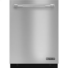 24-Inch Flush TriFecta™ Dishwasher with Built-In Water Softener, Pro-Style® Stainless Handle