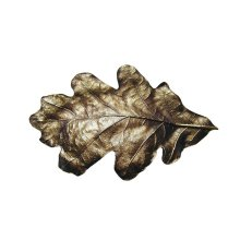 Oak Leaf - Antique Brass