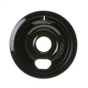 """ELECTRIC RANGE BURNER BOWL - 6"""" BLACK PORCELAIN Product Image"""