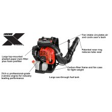 PB-8010 Backpack Leaf Blower with Tube Throttle ECHO X Series
