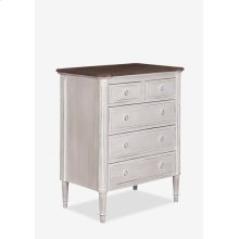 Isabelle Chest of 5 Drawers (29X18X35)