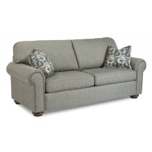 Preston Fabric Full Sleeper with Nailhead Trim