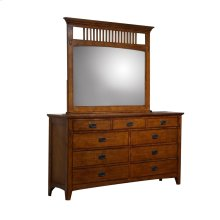SS-TR750 Bedroom  Dresser & Mirror Set