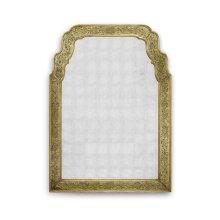 Gold eglomise mirror