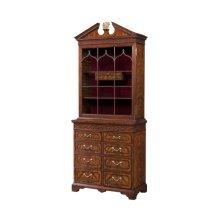 Gothic Astragals Bar / Curio Cabinet