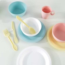 27-Piece Pastel Cookware Playset