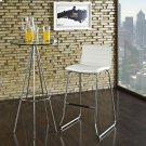 Dive Bar Stool in White Product Image