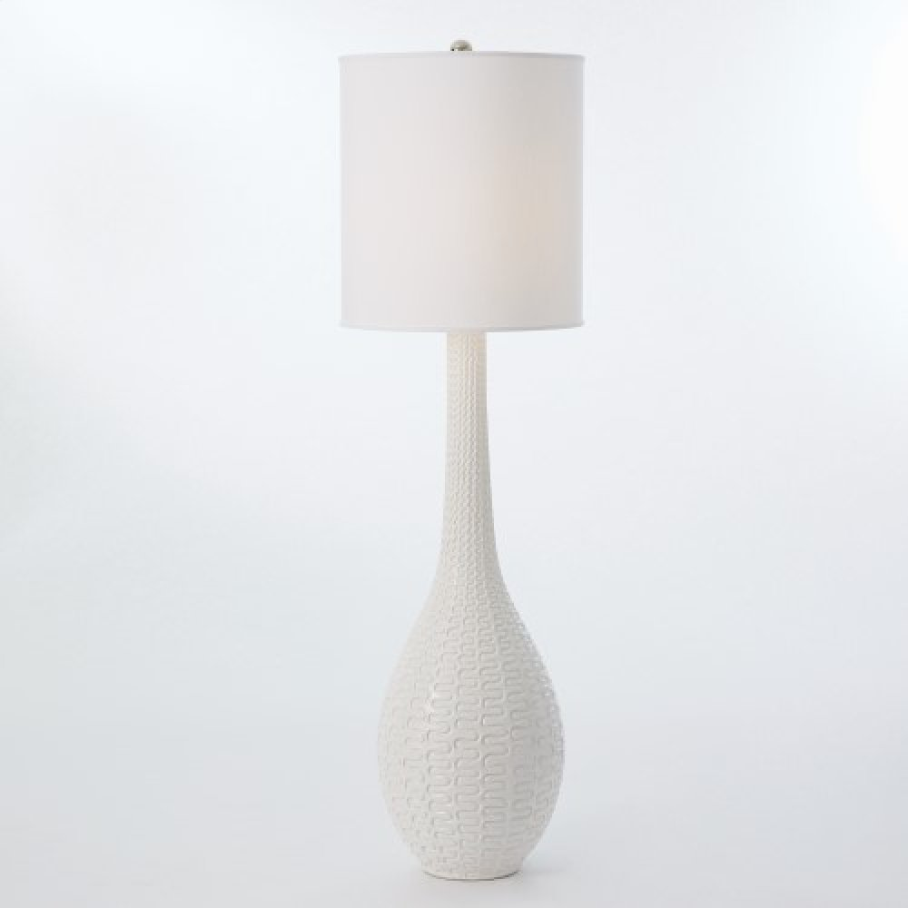 Rinaldi Floor Lamp-Matte White