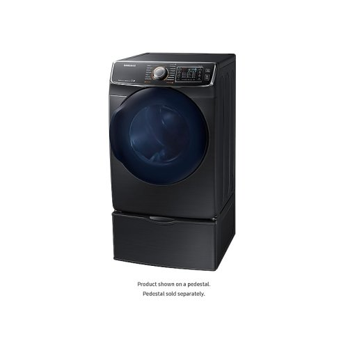 7.5 cu. ft. Gas Dryer in Black Stainless Steel