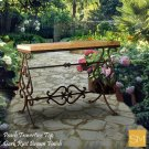 * Travertine Console Table 1256c Product Image