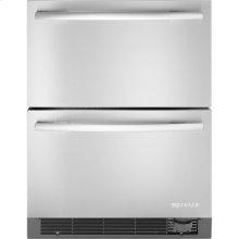 "Refrigerator/Freezer Drawers, 24""(w), Euro-Style Stainless Handle"