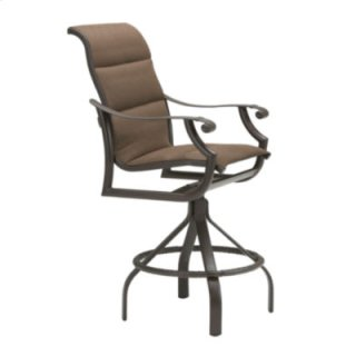 Montreux Padded Sling Swivel Bar Stool