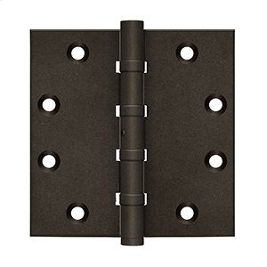 """4 1/2"""" x 41/2"""" Square Hinges, Ball Bearings Product Image"""