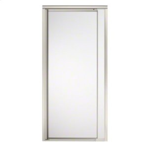 "Vista Pivot™ II Shower Door - Height 65-1/2"", Max. Opening 31-1/4"" - Nickel with Frosted Glass Pattern Product Image"