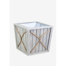(LS) Montauk Planter Box - Small