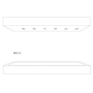HORIZONTAL SHOWER - chrome Product Image