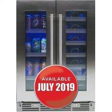 """24"""" French Door Beverage Centers Wine Refrigerators"""