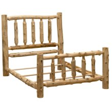Traditional Bed - Double - Natural Cedar