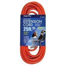 16/3 25 ft. Orange Extension Cord