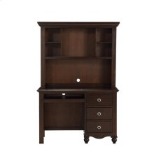 Writing Hutch/Desk Set, Espresso