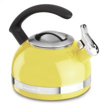 1.9 L Kettle with C Handle and Trim Band - Citrus Sunrise