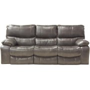 Reclining Gliding Console Loveseat Product Image