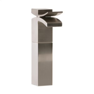 Vessel Lav Faucet High - Brushed Nickel Product Image