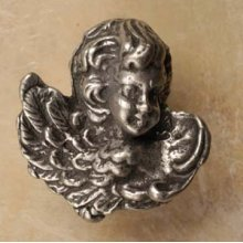 Cherub with Wings Facing Left