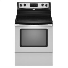 30-inch Freestanding Electric Range (This is a Stock Photo, actual unit (s) appearance may contain cosmetic blemishes. Please call store if you would like actual pictures). This unit carries our 6 month warranty, MANUFACTURER WARRANTY and REBATE NOT VALID with this item. ISI 34339