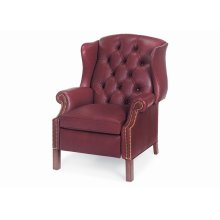 Browning Tufted Wing Chair Power Recliner