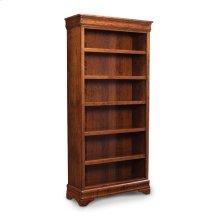 Louis Philippe Open Bookcase, Louis Philippe Open Bookcase, 3-Adjustable Shelves
