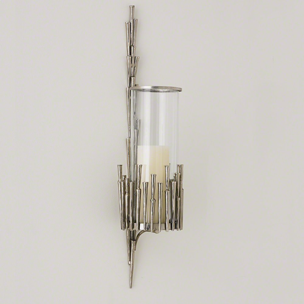 Spike Wall Sconce-Antique Nickel