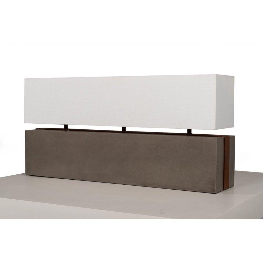 Modrest Valdez Modern Concrete Table Lamp