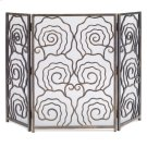 Spiral 3-Panel Fireplace Screen Product Image
