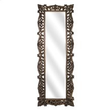 Kaleem Carved Wood Mirror