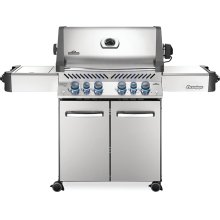 Prestige 500 RSIB Infrared Side & Rear Burners , Stainless Steel , Propane
