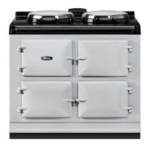"AGA Dual Control 39"" Electric/Natural Gas Pearl Ashes with Stainless Steel trim"