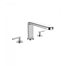 TH400 - 3 Piece Roman Tub Trim - Polished Chrome