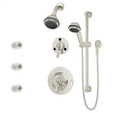 Symmons Water Dance® Shower/Hand Shower System - Satin Nickel