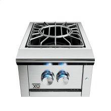 16in Power Side Burner 60,000 BTU LP
