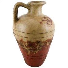 Textured Red Roman Pitcher
