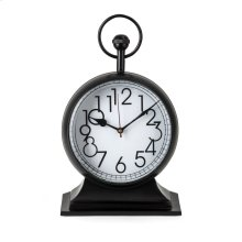 TY Tribute Black and Gold Desk Clock