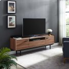 """Visionary 71"""" TV Stand in Walnut Black Product Image"""