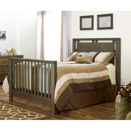 Floating 4-in-1 Convertible Crib