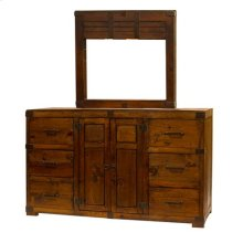 """Mirror : 37.5"""" x 36.5"""" x 2"""" Oviedo Dresser and Mirror"""