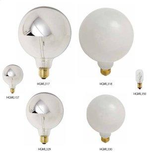 Bulbs light bulb  half-chrome G80 25W Product Image