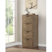 BRIGHTON 4 Drawer Tall File Cabinet Product Image