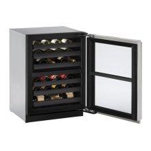 """24"""" Wine Captain ® Model Stainless Frame Right-Hand Hinge"""