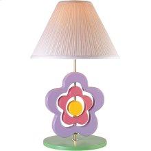 Hippie Spinning Flower Lamp, Pastel E27 Cfl 23